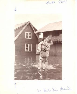 1977 Flood, Fairfield Beach Road