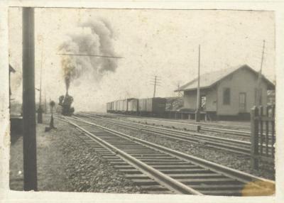 Fairfield railroad station - freight house