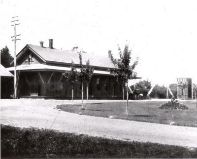Fairfield Railroad Station - Eastbound