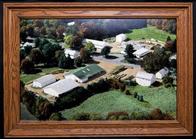 Photograph - Aerial view of The Munger Lumber Company - 1990s