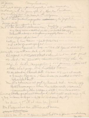 Notes on Ebenezer Punderson
