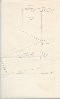 Safford land drawing 1781