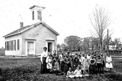 Neck District School and Pupils