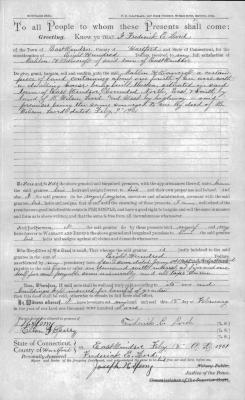Mortgage Deed from Fredk. E. Lord to Mahlon H. Bancroft