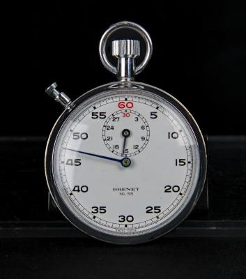 Stopwatch used by Dr. H.B. Birnbaum