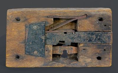 Door Lockset - wooden