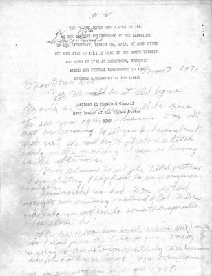 Correspondence with Donald and Dorothy Armistead