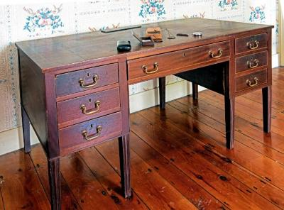 Desk owned by Dr. H.B. Birnbaum
