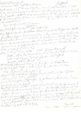 1694-1798 Safford land information taken from Preston Land Records