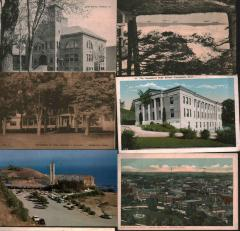 Collection of picture post cards.