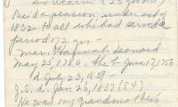 Notes on John Starkweather b 1752
