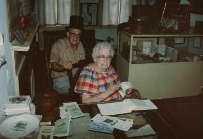 "Photo of ""Cousin Ellsworth"" and ""Grandma Dorothy Ellsworth Jensen"", Seattle, WA"
