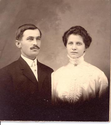 Julius and Mary Halasz portrait