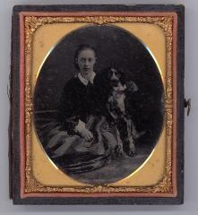 Kate Sherman with Dog