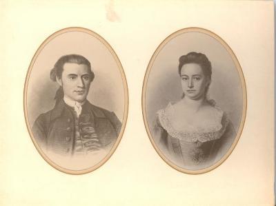 Thaddeus and Eunice Burr