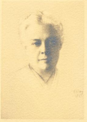 Portrait of Mabel Osgood Wright