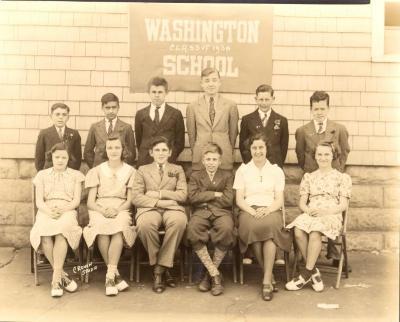 Washington School Class of 1938