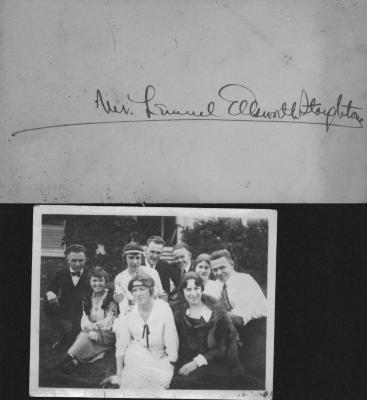 Photo of Reunion of CC at C.A.C. 1918