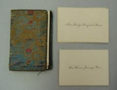 Calling Card Case and Cards