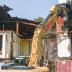 Reference photos of the demolition of the General's Residence