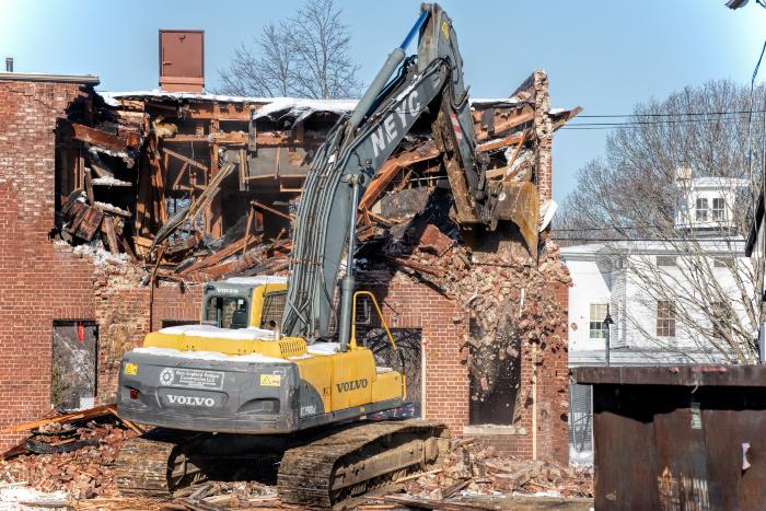 Photos of Hull Building demolition