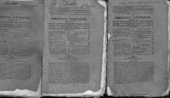Christian Spectator (3 booklets) August 1820, September 1820, November 1, 1823.
