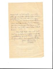 Letters from W.J. Wilcox to his family 1918-1919
