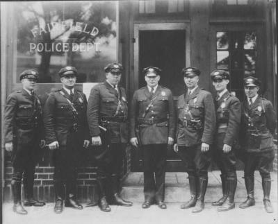 !930 Fairfield Police 1930