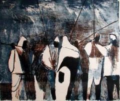 Fishermen at Moontide