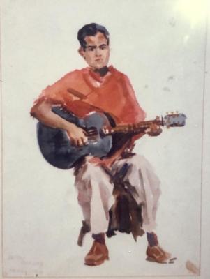 Man with Mandolin