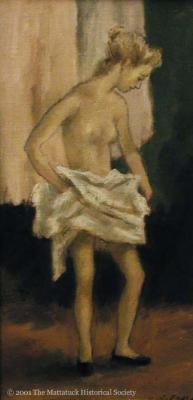 Draped with a Towel
