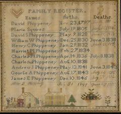 Sampler - Family Register