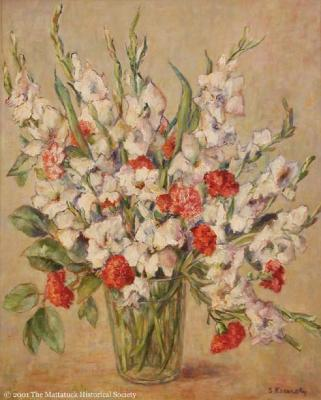 Gladiolus and Carnations