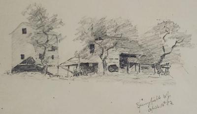 Farmyard Sketch