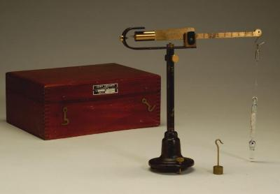 Specific Gravity Balance used at Hubbard-Hall
