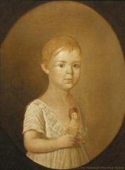 Portrait of Martha Pike;Portrait of Martha Pike