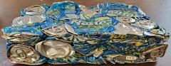 Crushed Nestea Cans;Crushed Nestea Cans