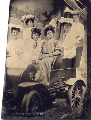 Portrait of Six Unknown Women