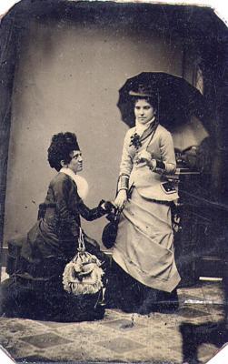 Portrait of Two Unknown Women