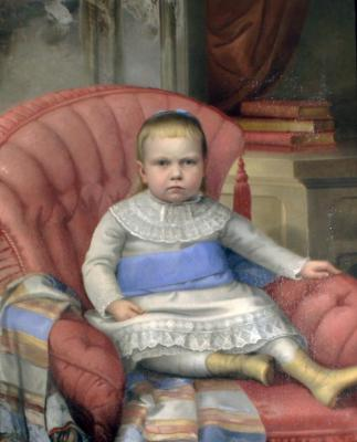 Gertrude Buckingham Whittemore as a Child (1874-1941)