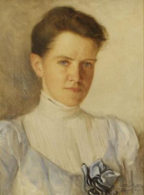 Gertrude Buckingham Whittemore as a Young Woman (1874-1941)