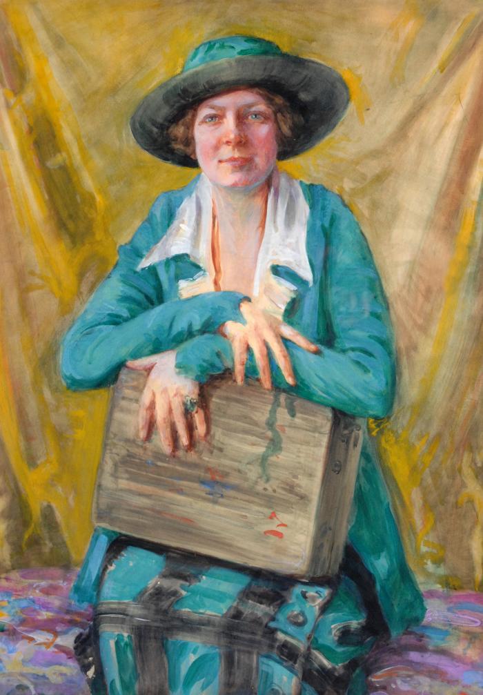 Portrait of Jane Peterson