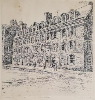 Connecticut Hall, Yale University