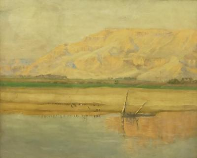 The Lybian Hills Thebes