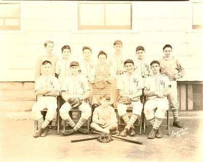 Washington School 1945 Baseball Team
