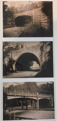 "Merritt Parkway Triptych ""B"""