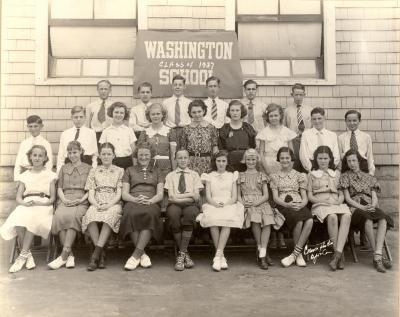 Washington School Class of 1937