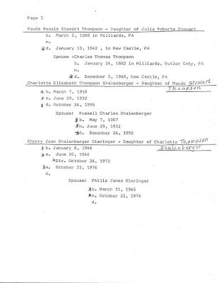 Bisbee, Joseph Genealogy