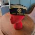 Two American Legion Hats Barry-Poulter Post 40
