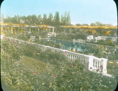 Pool with Gardens